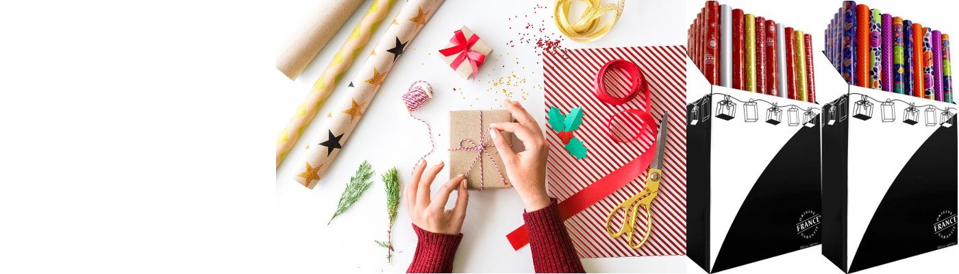 Commandez votre papier cadeau